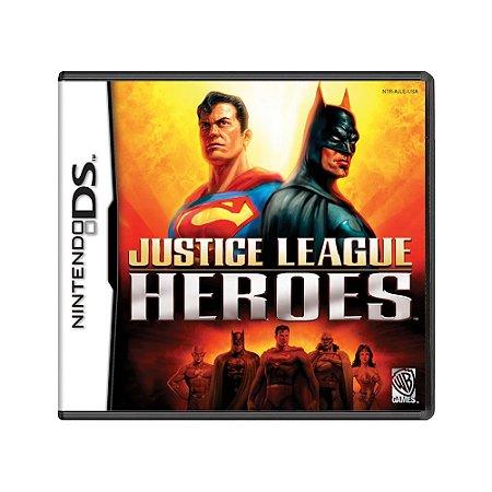 Jogo Justice League Heroes - DS