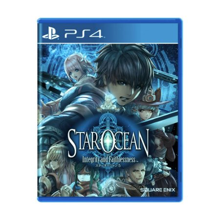 Jogo Star Ocean: Integrity and Faithlessness - PS4