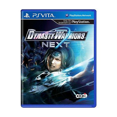 Jogo Dynasty Warriors Next - PS Vita
