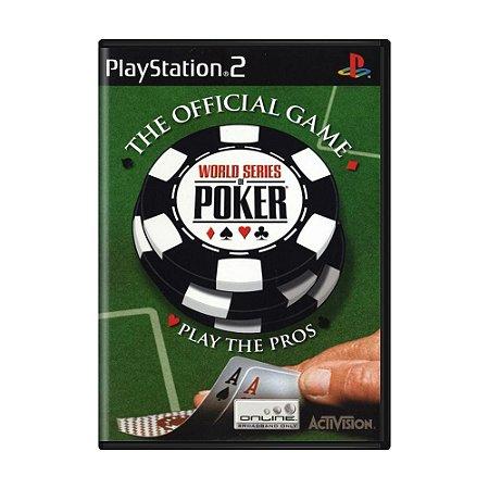 Jogo World Series of Poker - PS2