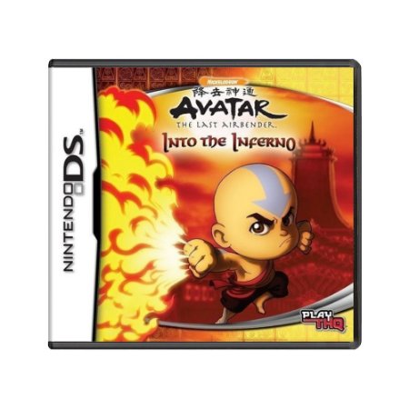 Jogo Avatar: The Last Airbender - Into the Inferno - DS