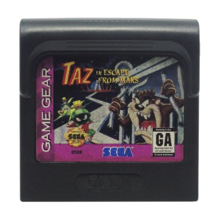 Jogo Taz in Escape From Mars - Game Gear