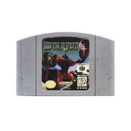 Jogo Star Fox 64 - N64