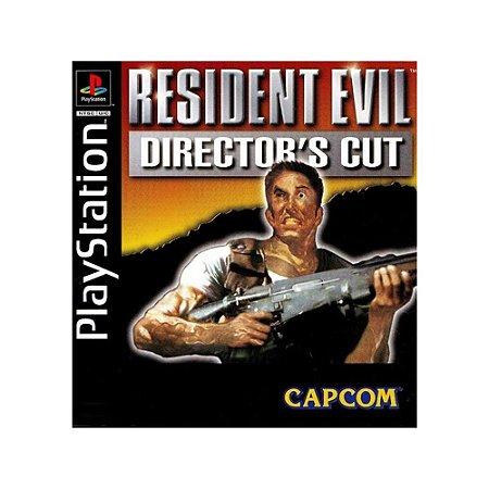 Jogo Resident Evil: Director's Cut - PS1