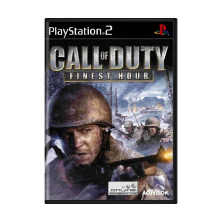 Jogo Call of Duty: Finest Hour - PS2