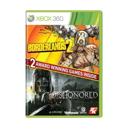 Jogo The Borderlands 2 + Dishonored (Bundle) - Xbox 360