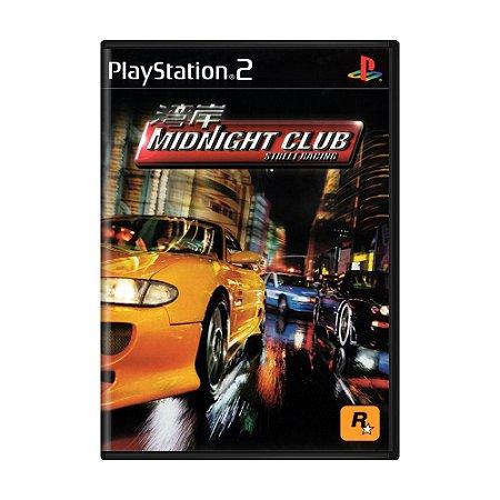 Jogo Midnight Club: Street Racing - PS2