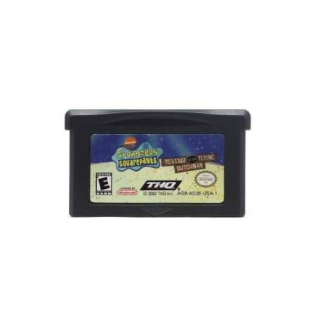 Jogo SpongeBob SquarePants: Revenge of the Flying Dutchman - GBA