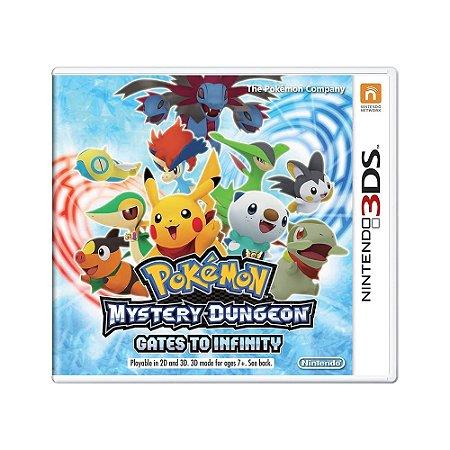 Jogo Pokémon Mystery Dungeon Gates to Infinity - 3DS
