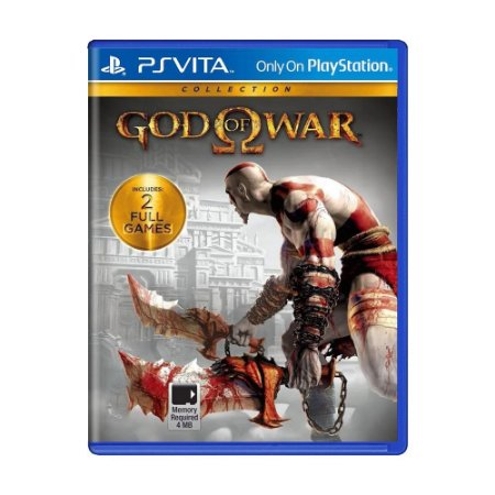 Jogo God of War: Collection - PS Vita