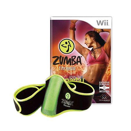 Jogo Zumba Fitness: Join the Party + Zumba Fitness Belt - Wii