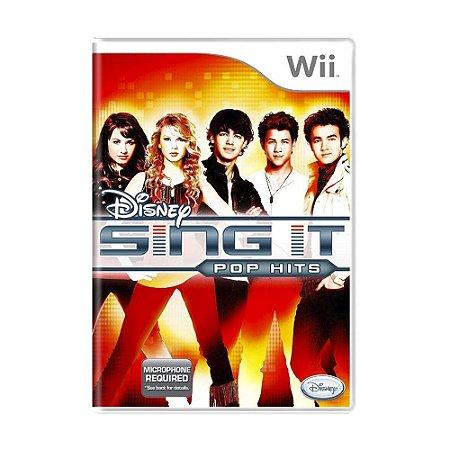 Jogo Disney Sing It: Pop Hits - Wii