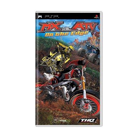 Jogo MX vs ATV: On the Edge - PSP
