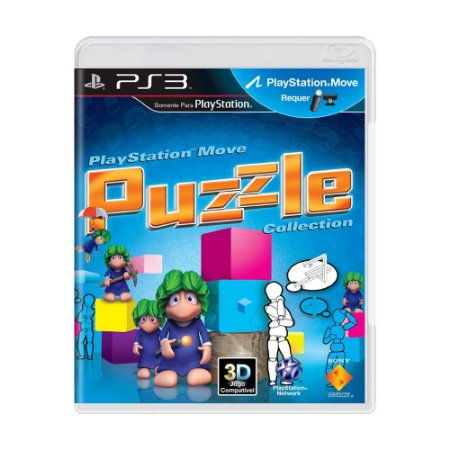 Jogo Playstation Move: Puzzle Collection - PS3
