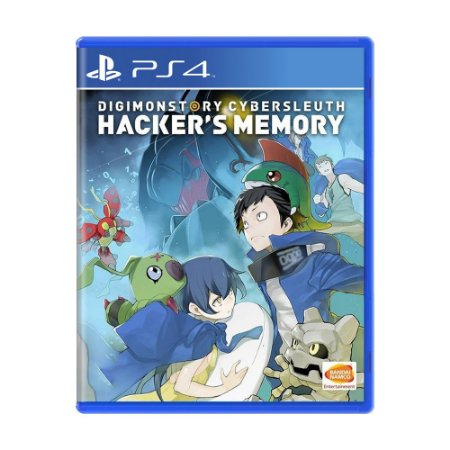 Jogo Digimon Story: Cyber Sleuth Hacker's Memory - PS4