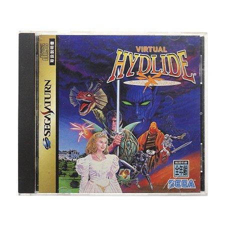 Jogo Virtual Hydlide - Sega Saturn (Japonês)