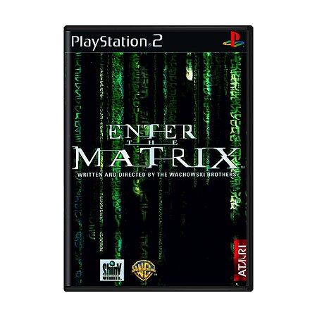 Jogo Enter The Matrix - PS2
