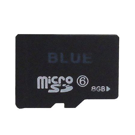 Cartão de Memória Micro SD 8GB - Blue