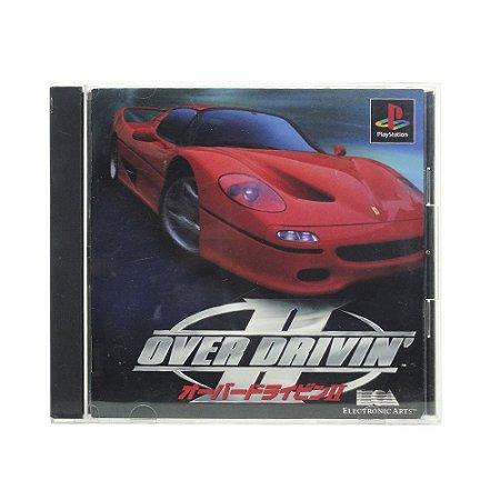 Jogo Over Drivin' II - PS1 (Japonês)