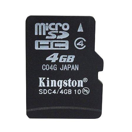 Cartão de Memória Micro SD 4GB - Kingston