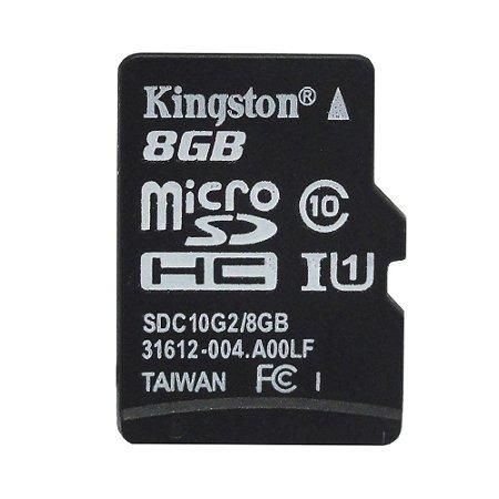 Cartão de Memória Micro SD 8GB - Kingston
