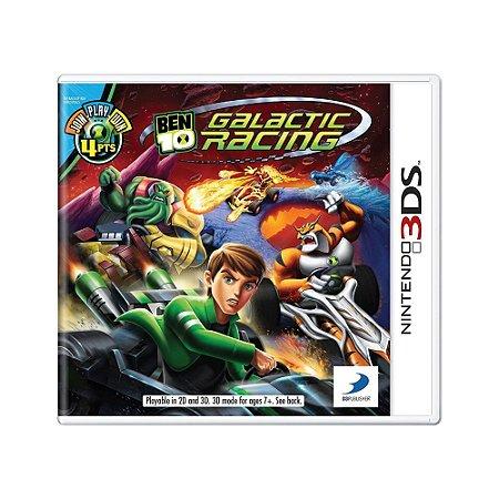 Jogo Ben 10 Galactic Racing - 3DS