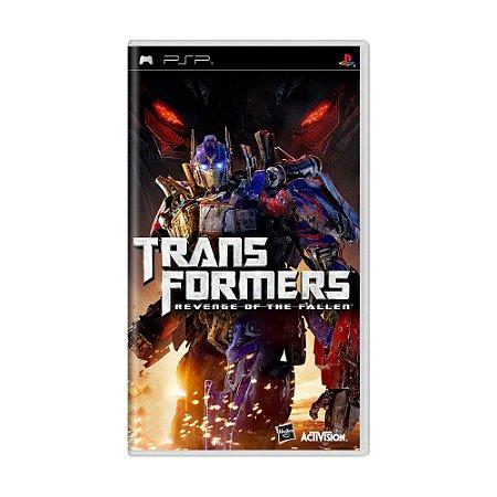 Jogo Transformers: Revenge of the Fallen - PSP