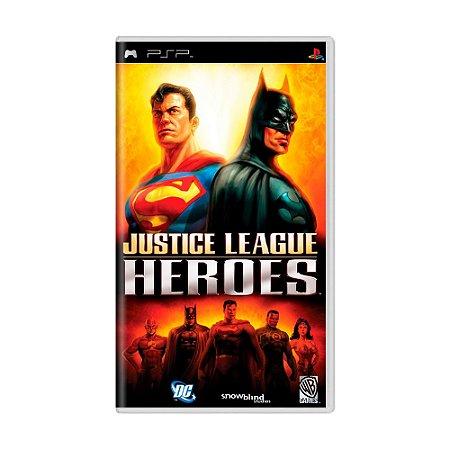 Jogo Justice League Heroes - PSP