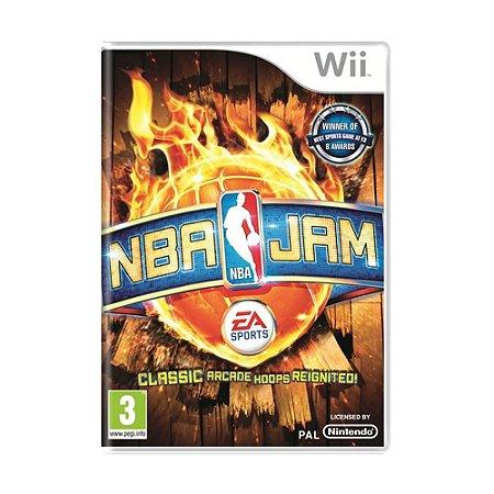 Jogo NBA Jam - Wii (Europeu)