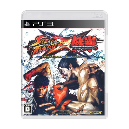 Jogo Street Fighter x Tekken - PS3 (Japonês)