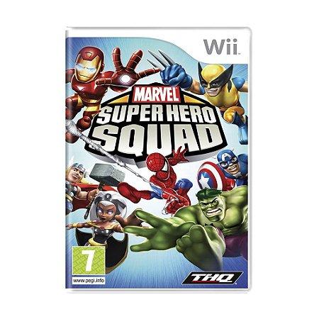 Jogo Marvel Super Hero Squad - Wii (Europeu)