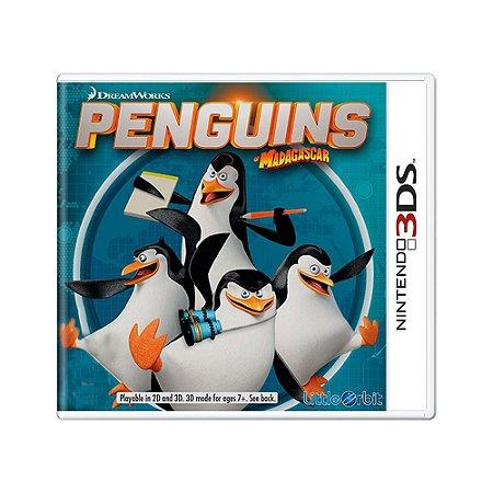 Jogo Penguins of Madagascar - 3DS