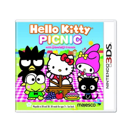 Jogo Hello Kitty: Picnic with Sanrio Friends - 3DS
