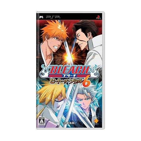 Jogo Bleach: Heat the Soul 6 - PSP