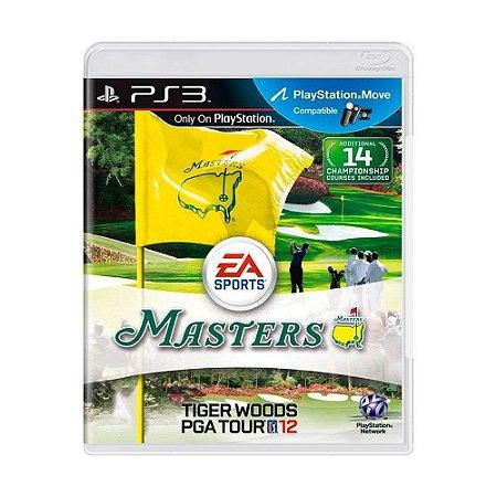 Jogo Tiger Woods PGA Tour 12 - PS3