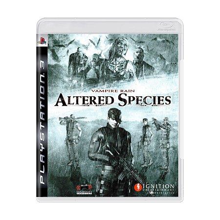Jogo Vampire Rain: Altered Species - PS3