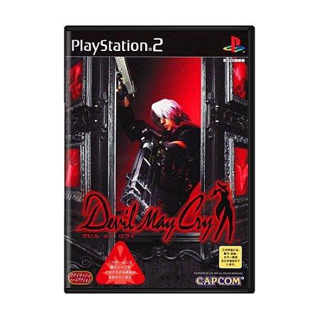 Jogo Devil May Cry - PS2 (Japonês)
