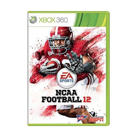 Jogo NCAA Football 12 - Xbox 360