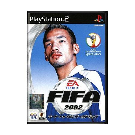 Jogo FIFA Soccer 2002 - PS2 (Japonês)