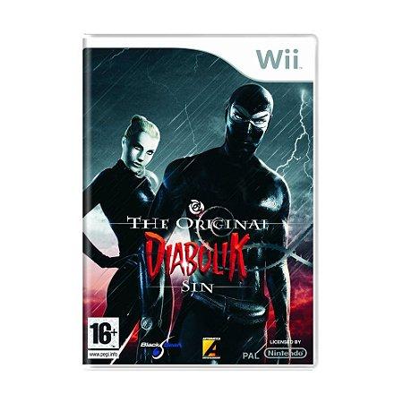 Jogo Diabolik: The Original Sin - Wii (Europeu)