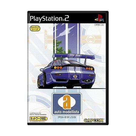Jogo Auto Modellista - PS2 (Japonês)