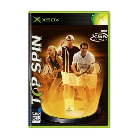 Jogo Top Spin - Xbox (Japonês)