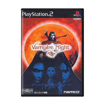 Jogo Vampire Night - PS2 (Japonês)