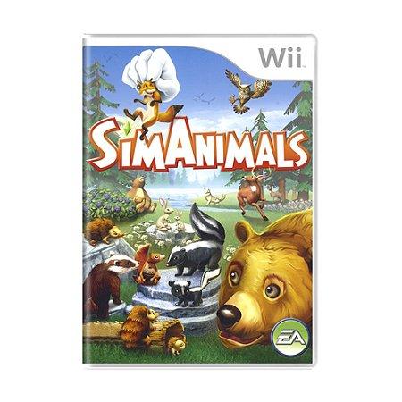 Jogo SimAnimals - Wii