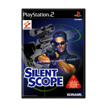 Jogo Silent Scope - PS2 (Japonês)