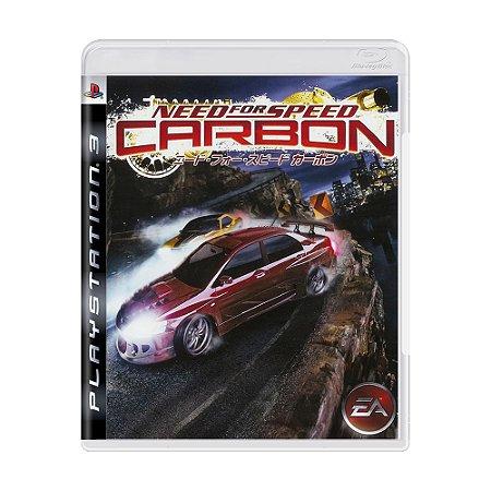 Jogo Need for Speed: Carbon - PS3 (Japonês)