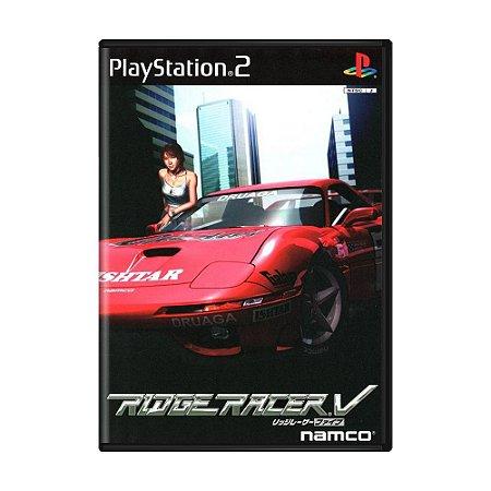 Jogo Ridge Racer V - PS2 (Japonês)