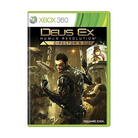 Jogo Deus Ex: Human Revolution (Director's Cut) - Xbox 360
