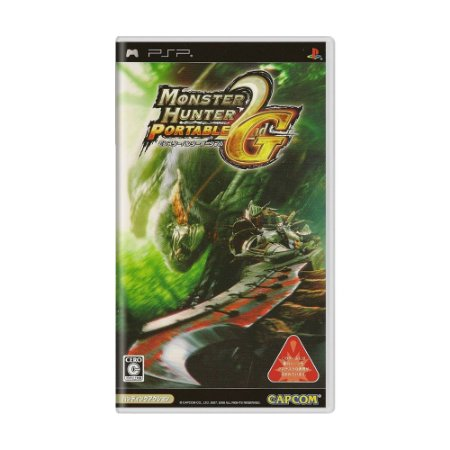 Jogo Monster Hunter Portable 2nd G - PSP