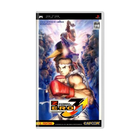 Jogo Street Fighter Zero 3 Double Upper - PSP
